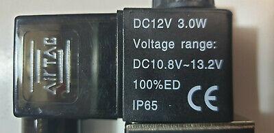 "Pneumatik Ventil 5//2 Wege 24 Volt 1//4/"" 1,5-8 bar 5//2 Wegeventil mit KV 1.2"