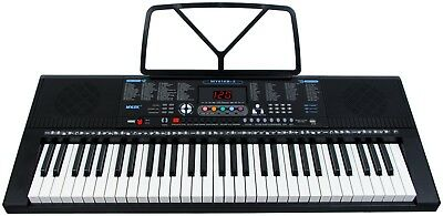 Musical Keyboard Piano 61 Keys Electronic Electric Beginners Instrument Digital