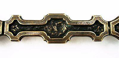 Antique Hardware Mid Century Modern Drawer Pull Vintage Cabinet Handle Brass 3