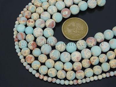Natural Matte Shoushan Stone Gemstone Round Beads 15'' Strand 6mm 8mm 10mm 12mm 4