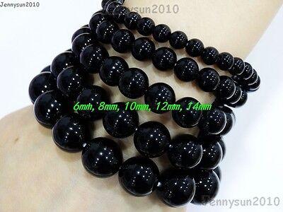 Handmade 6mm Mixed Natural Gemstone Round Beads Stretchy Bracelet Healing Reiki 3