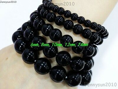 Handmade 8mm Mixed Natural Gemstone Round Beads Stretchy Bracelet Healing Reiki 3