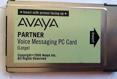 Avaya  Lucent Partner Voice Messaging PC Card - Large 108505306 3