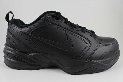 select for genuine most reliable limited price NIKE AIR MONARCH Iv 4 Extra Wide 4E Eeee Triple Black Mono Cross Trainer  Mens Sz