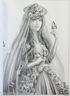Amazing Greyscale Adult Colouring Book Fantasy Gothic