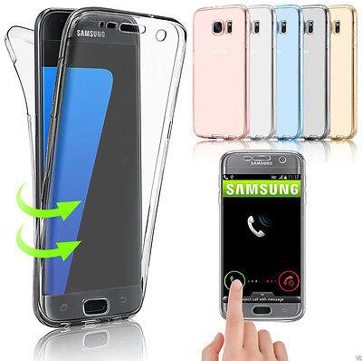 Coque Housse 360 Silicone Integral Pour Samsung S8/s9/s5/s6/s7/edge J3/j5 A5/a8 2