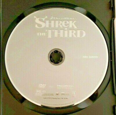 Shrek The Third Dvd 2007 Full Screen Dreamworks 2 97 Picclick
