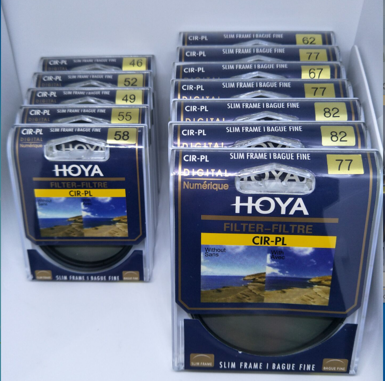 HOYA Camera SLIM CPL Filter 58mm 67mm 72mm 77mm 82mm Circular Polarizing CIR-PL 3