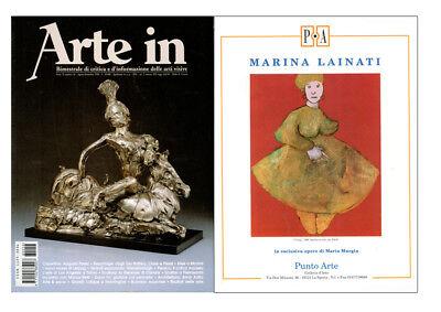 """MARINA LAINATI - """"Antonello""""  - Serigrafia cm 30x30 5"""