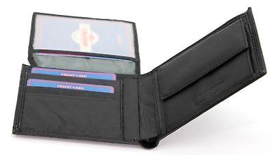 d9487fef4c ... Portafoglio in pelle uomo porta carte e ribaltina CHARRO morbido con  portamonete 4