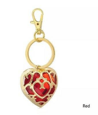 """The Legend of Zelda Red Heart Container Keychain Link 2"""" US Seller"""