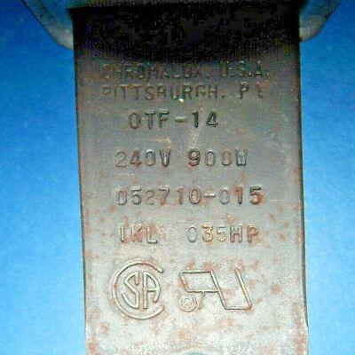 Chromalox OTF-14 Finstrip Finned Air Heater 240Volt 900Watt IKL035HP 052710-015 10