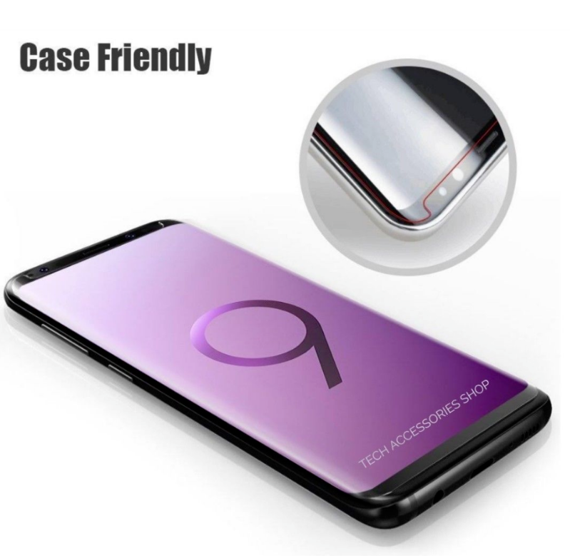 For Samsung Galaxy S9 Plus 5D Curved Tempered Glass LCD Screen Protector 6