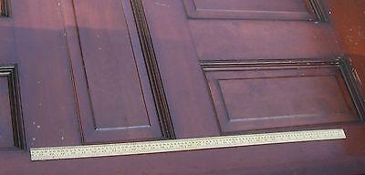 Antique Pocket door  with  beautiful brass  door knobs Architectural  Salvage 12