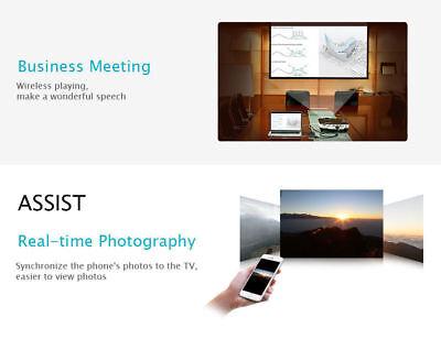 Chromecast Google Wireless Mirascreen Hdmi Display Dongle Media Video Streamer 3