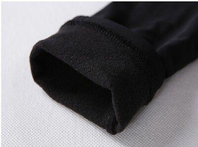 Women Ladies Underwear Winter Warm Fleece Fur Lined Thermal Long Sleeve Top New 4