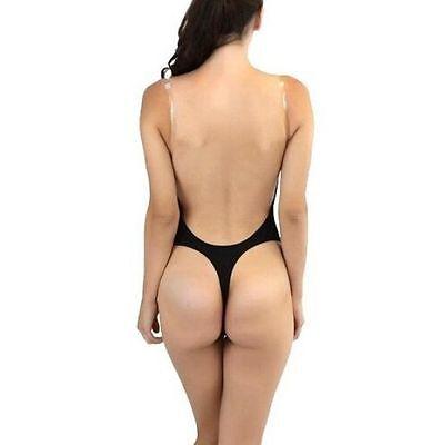 1 von 12Kostenloser Versand Damen Nahtlose Siamese Unterwäsche rückenfrei U  Dekolleté-BH Body Suit Babydolls 1a72787c67