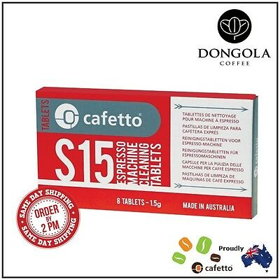 **SPECIAL** Cafetto S15 Espresso Coffee Machine Cleaning Tablets Super Automatic