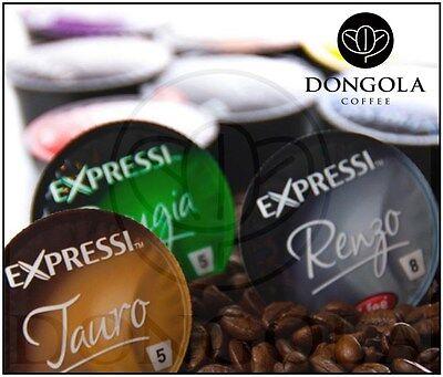 10 BOX (160) You Choose Expressi Automatic Coffee Machine Capsules Pods ALDI 3