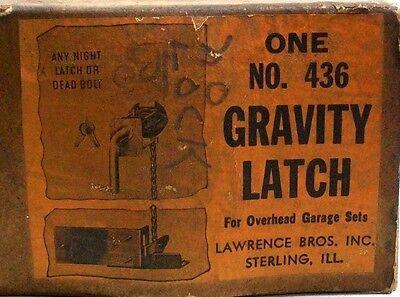 New Old Stock Vintage Gravity Latch For Overhead Garage Door Sets Dm 6