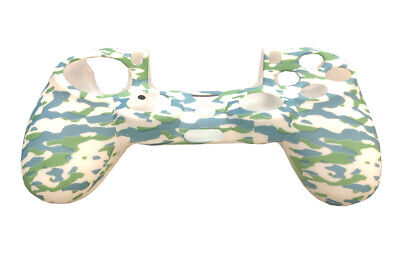 Camo Silicone Rubber Skin Case Gel Cover Grip for Playstation 4 PS4 Controller 3