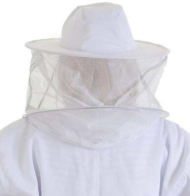 2 x Beekeepers SPARE ROUND BEE VEILS / HATS for Jackets and Suits 2
