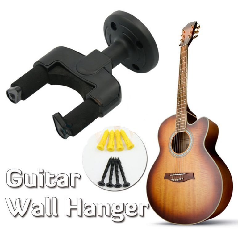 Guitar Hanger Stand Holder Hook Wall Mount Rack Display Acoustic Electric Bass 10