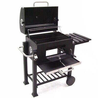 56511 Bbq Barbecue Grill Griglia Carbone Carbonella Ripiano Affumicatore 7