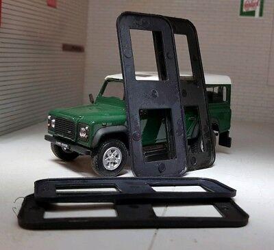 Charnière De Porte Boulon Kit Front Set en acier inoxydable Land Rover Defender 90 110 130