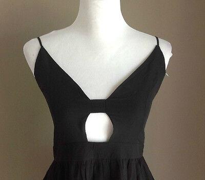 Bulk Lot x 7 NEW Dresses Black Chiffon Lace Up Back Sizes 6 - 12 Styla Label 3