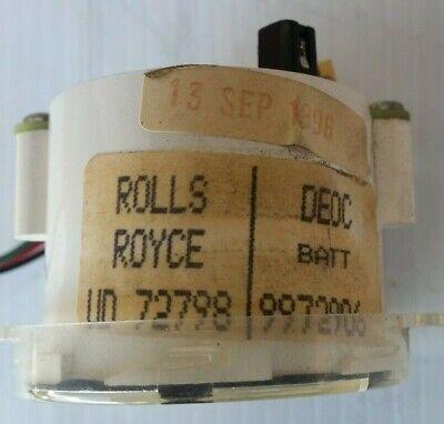 Rolls Royce Spur Bentley Turbo R Dashboard Battery Volt  Gauge  Ud72798 3