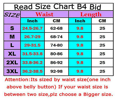 Breathable Waist Trainer Body Shaper Corset Tummy Cinchers Training Slimming Gym
