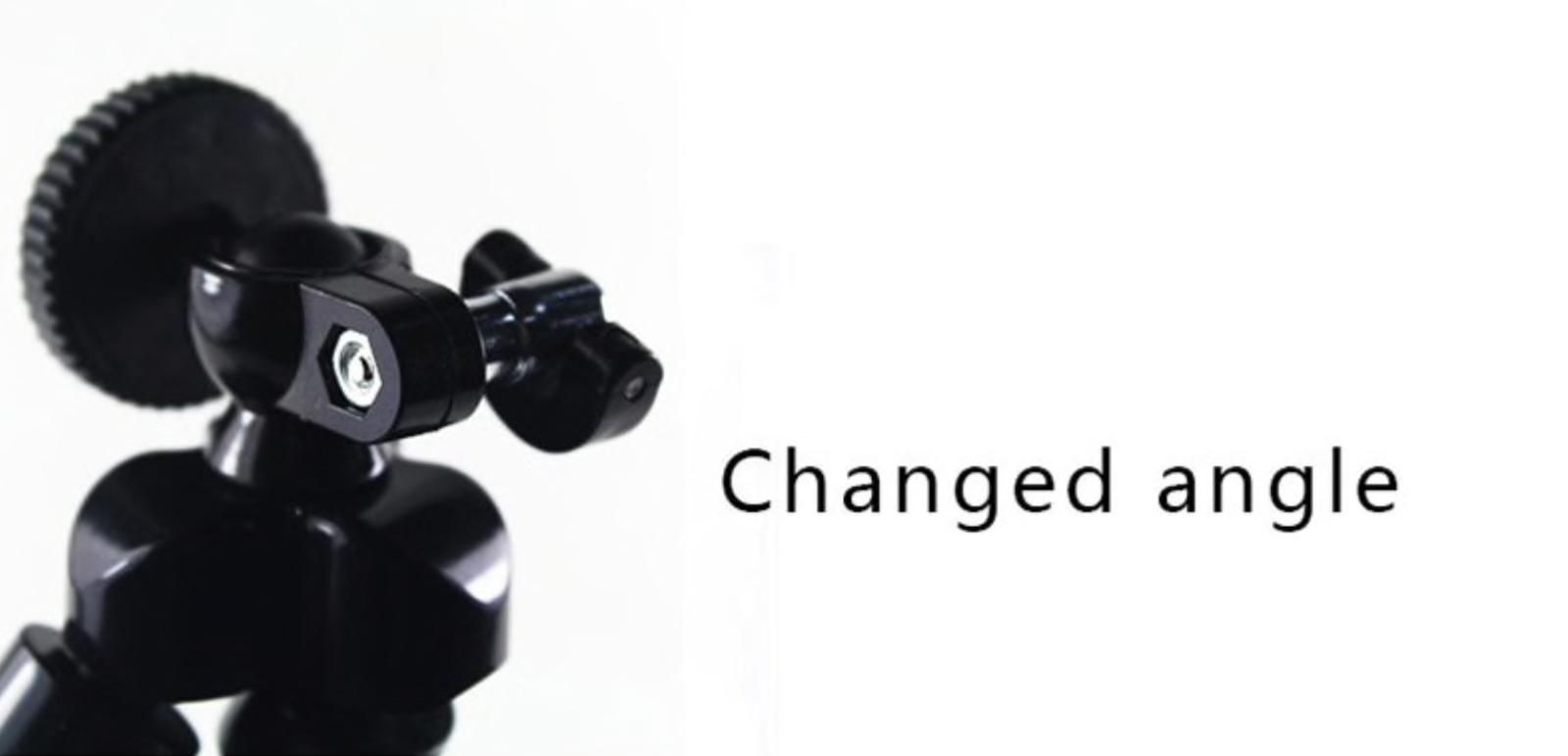 Mini Flexible Trépied Support Pince pour Smartphone  Appareil Photo Compact BU