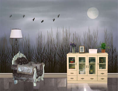 Coherent Dark Night 3D Full Wall Mural Photo Wallpaper Printing Home Kids Decor