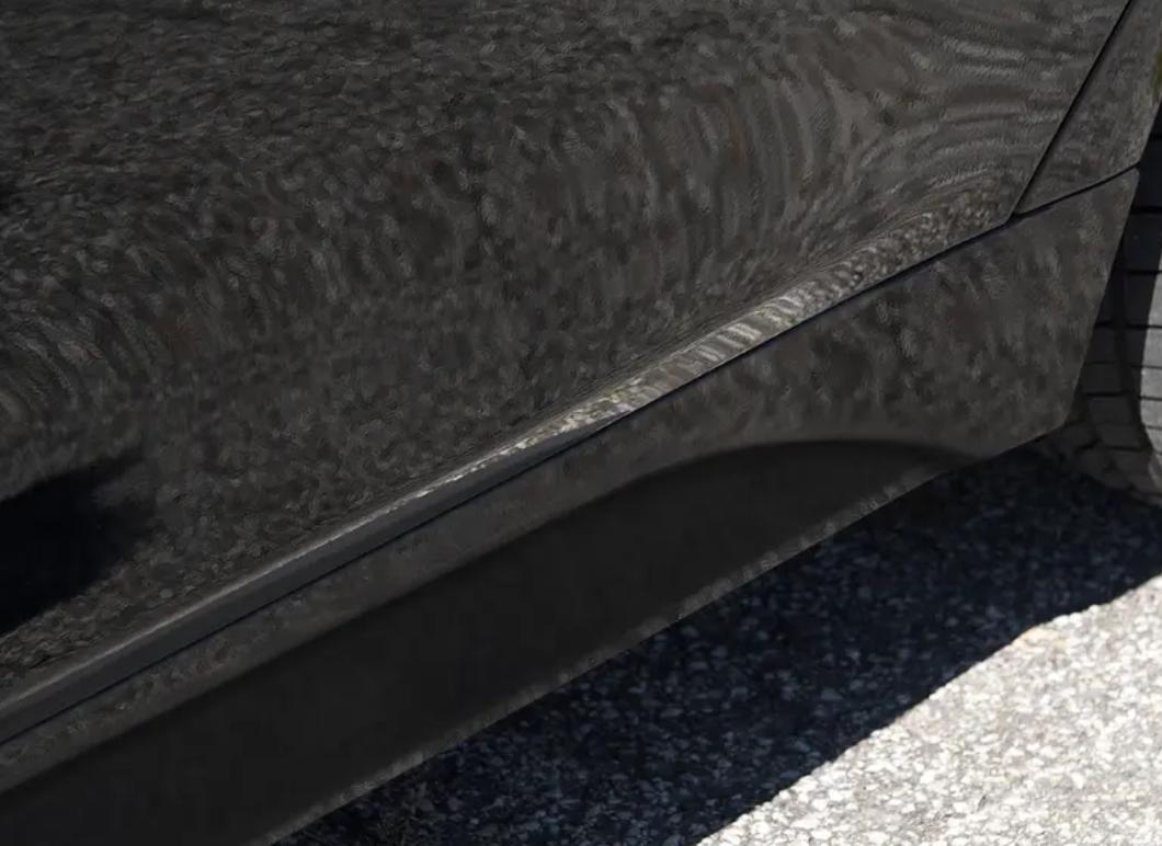 Neu Original BMW 3 F30 F31 M Paket Grundiert Seiten Schürtze Schweller Rechts