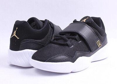 ec2d85943e6 ... Air Jordan J23 BG   854558 004 Black   Metallic Gold Big Kids SZ 4 -