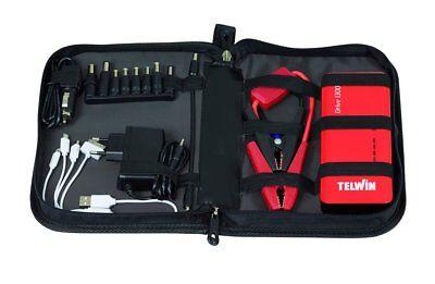 Avviatore Booster Portatile Telwin Drive 13000 12V Auto Moto Camper Barche 800Ah 7