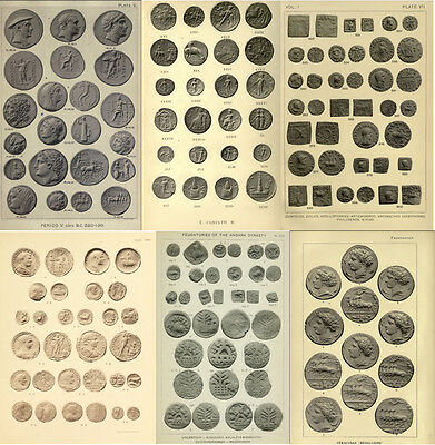 250 Rare Books On Numismatics & Coins, Ancient, Greek, Roman, Islamic On Dvd 3