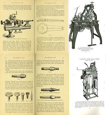 125 Rare Books On Horology, Pocket Watch, Clock, Sundial, Repair & More-Vol1 Dvd 12