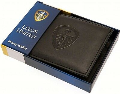 Debossed Crest Leather Football Club Sports Team Money Card Wallet Purse 11