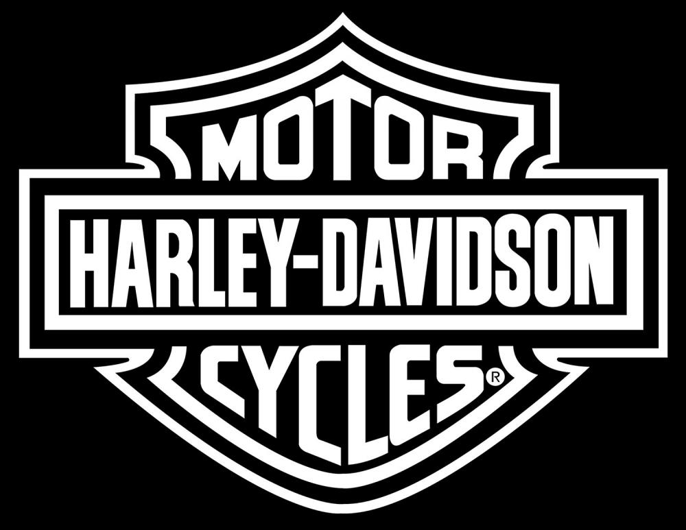 Harley Davidson Logo Cutz Rear Window Decal, Motorcycle Truck Car Sticker - LW 3