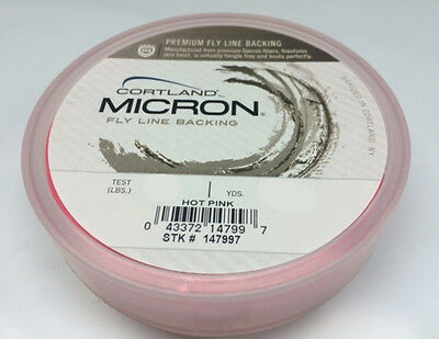 Orange 30 lb Test 50 to 2500 Yd Spools Orvis DACRON Fly Line Backing