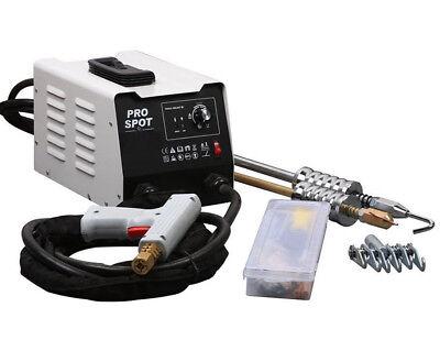 220V Vehicle Panel Spot Puller Dent Spotter Multi-spot Bonnet Door Repair Tool 2