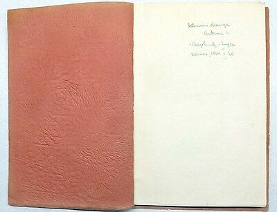 "AVANT-GARDE Cover POETRY Collection ""SEPTYNI"" K. ZUPKA Autograph LITHUANIA 1930 2"