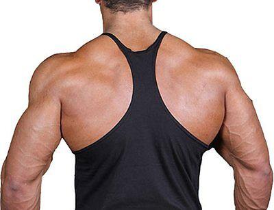 173585b6ea6e1 1 of 3 Men s American Muscle Flag Stringer Bodybuilding USA US Workout Gym  Tank Top