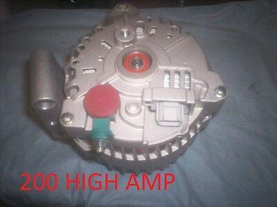NEW HIGH AMP Ford F Pickup DIESEL Alternator 04-05 6.0L Diesel E Van 6.0 2004 08 2