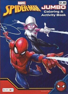 Lot of 11 Coloring Books - Disney Mickey Spiderman for Children Boy Girl Kids 7