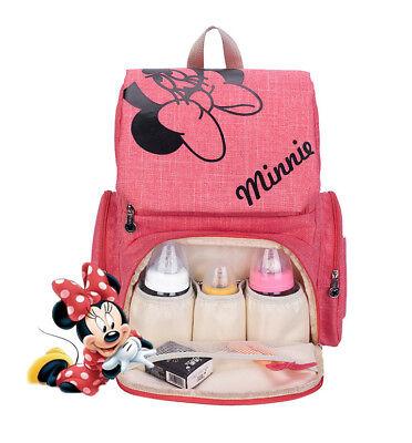 DISNEY Mickey Minnie Baby Maternal Stroller Maternity Nappy Bag 4