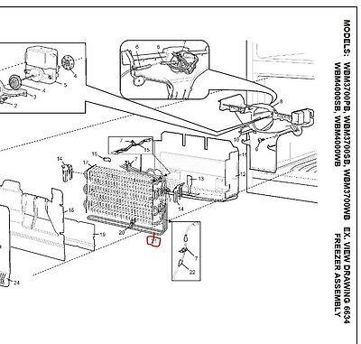 1440999 Genuine Westinghouse,kelvinator Fridge Defrost Heater 3