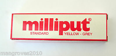 Milliput Yellow Grey Epoxy Putty 4oz 1st Class Post  Fits Through Your Letterbox 2